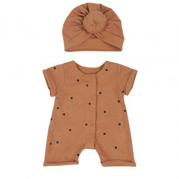 Doll outfit . Dots Nut