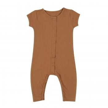 summer jumpsuit . nut . 1-24m