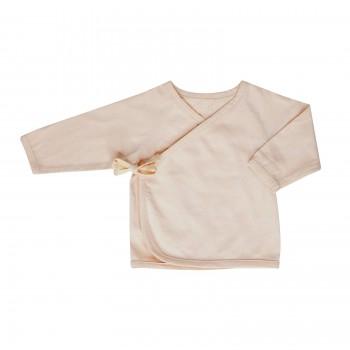 kimono cardigan . nude . 0-6m